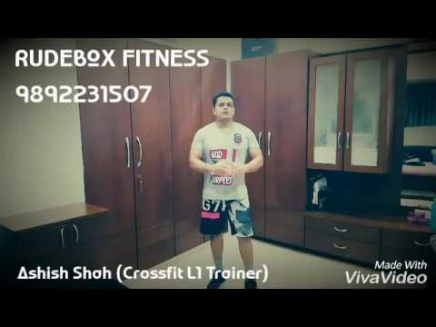 Rudebox Fitness WOD#1 Core Conditioning Challenge Total Body Fat Burnout cardio & strength endurance