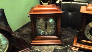 My Mantel Clock Collection.