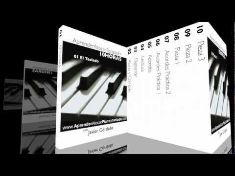 Aprender a tocar teclado - Curso de teclado - Lección 1