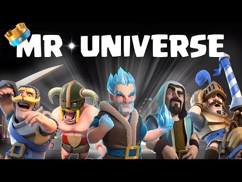 Clash Royale Mr.Universe || Who is Mr. Royale!!