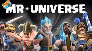 Clash royale mr.universe || who is mr. royale!!
