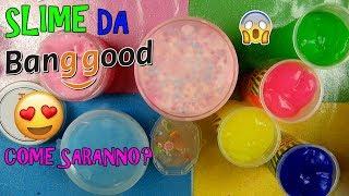SLIME COMPRATI DA BANGGOOD! COME SARANNO? Iolanda Sweets