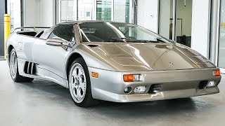Overview of the Legendary 1998 Lamborghini Diablo VT Roadster!!!