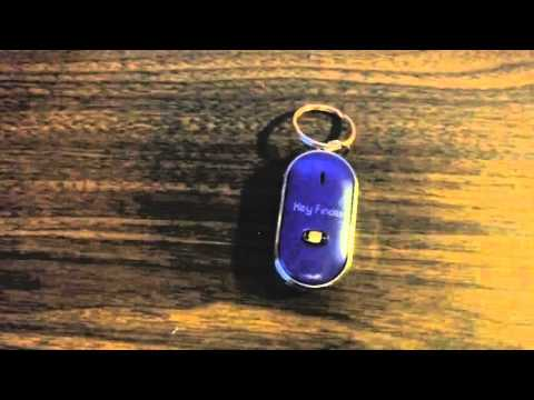 Whistle Activated Key Finder With LED Light Review