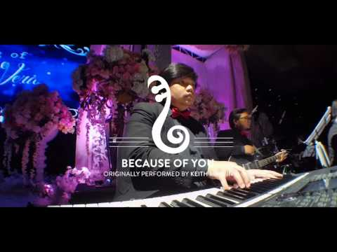 Band wedding surabaya -  because of you ( keith martin band version)