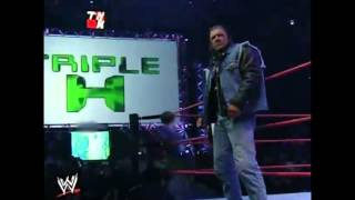 Triple H Greatest Return To RAW (2002)