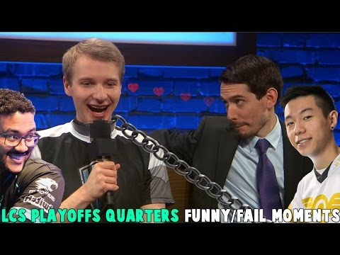 LCS PLAYOFFS QUARTERS FUNNY/FAIL MOMENTS   2017 Spring Break up