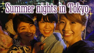 Summer nights in Tokyo: A Yukata party cruise to finish off the summer!