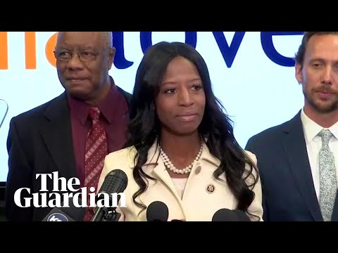 Republican Mia Love hits out at Donald Trump in concession speech