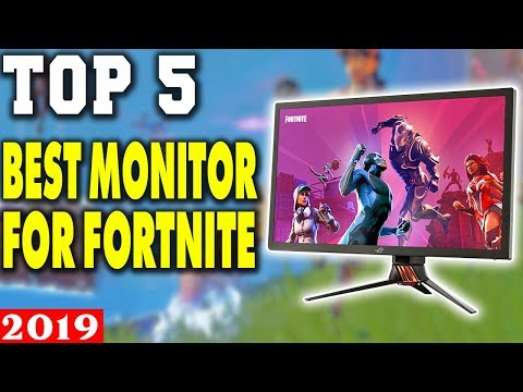 Top 5 - Best Monitor For Fortnite In 2019