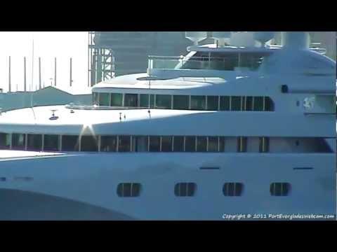 Motor Yacht PEGASUS V Departs Port Everglades - 11/3/2011