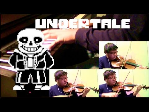 MEGALOVANIA cover, from Undertale [two violins, viola, piano]