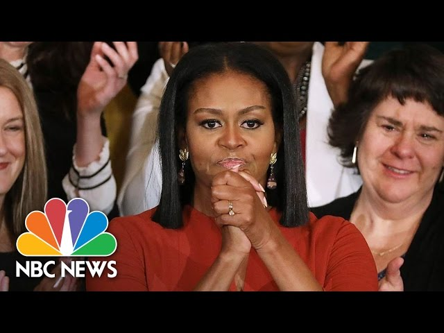 Michelle Obama's Final Speech As First Lady, Reflects On Diversity, Future Plans (Full) | NBC News