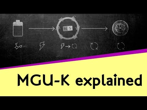 How does the MGU-K work?