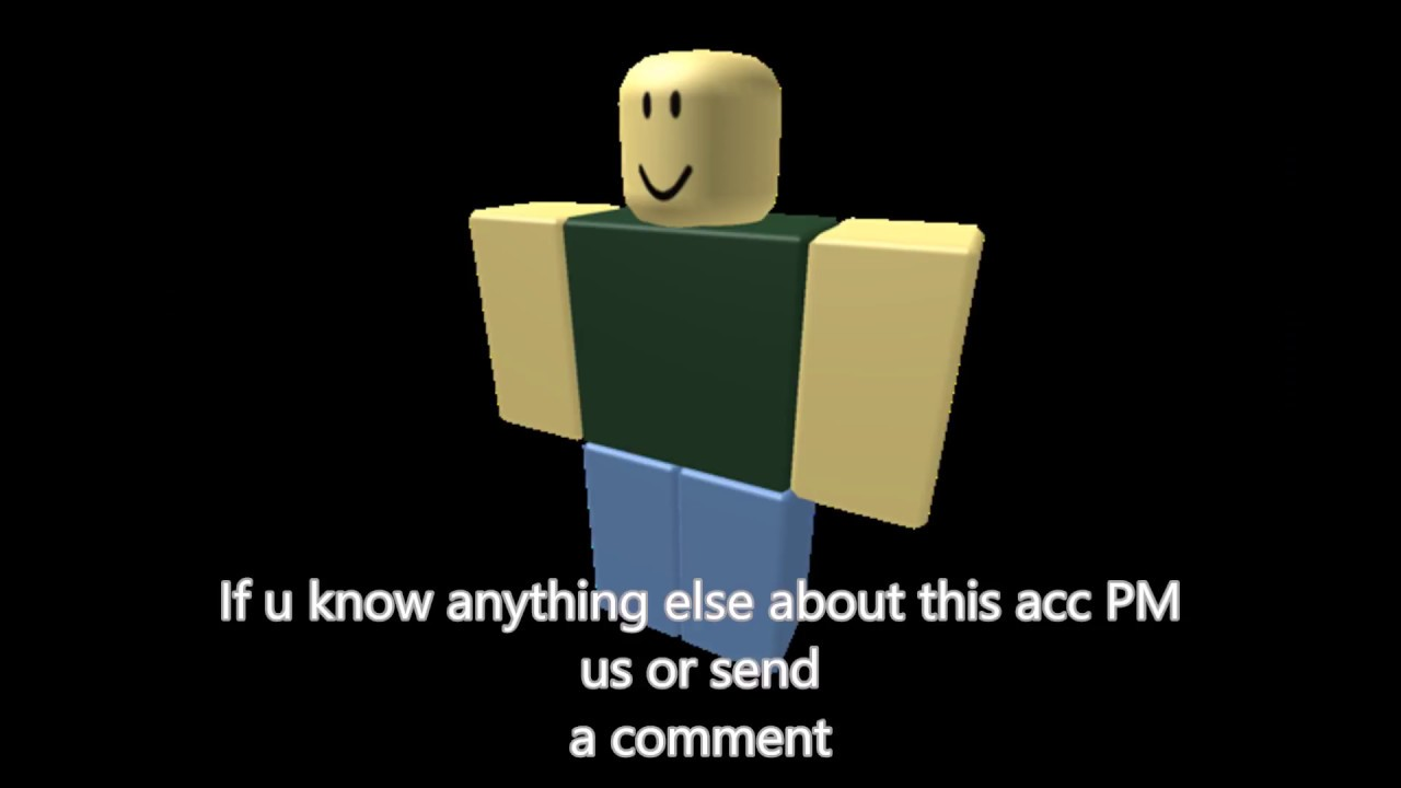 The Real First User Of Robloxadmin - roblox administrator accounts