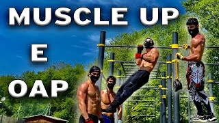 COME IMPARARE A FARE MUSCLE UP E ONE ARM PULL UP (OAP)