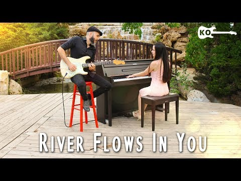 Yiruma - River Flows In You - Electric Guitar & Piano Cover by Kfir Ochaion feat. Yuval Salomon