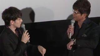 映画「タイガーマスク」の初日舞台あいさつが11月9日、東京都内で行われ...