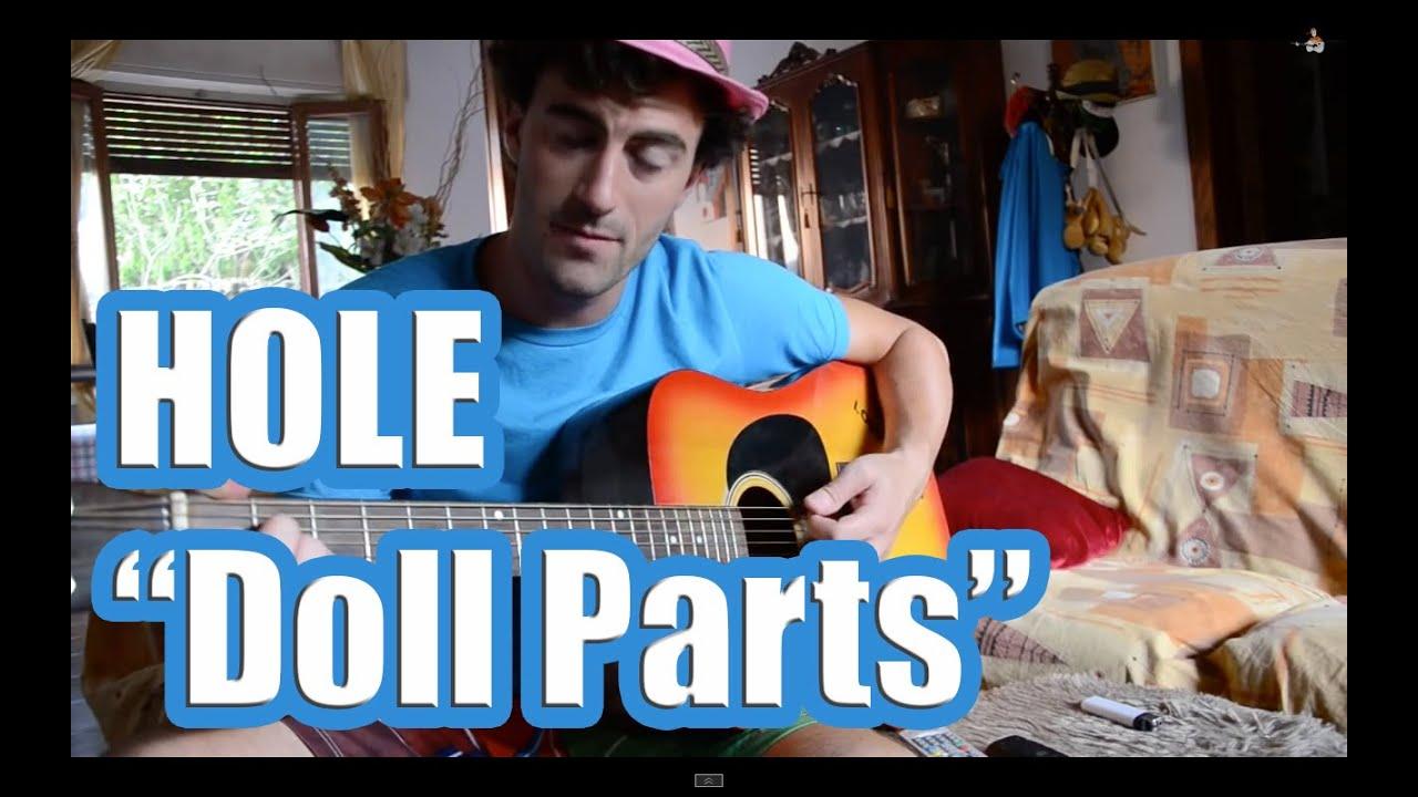 hole doll parts guitar tutorial youtube. Black Bedroom Furniture Sets. Home Design Ideas