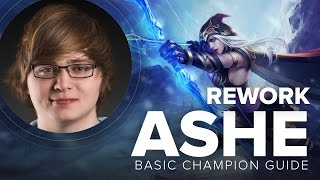 Ashe Rework Guide Updated by Cloud9 Sneaky - Season 5  | League of Legends