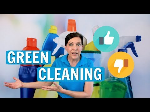 Green Cleaning - Yes or No? House Cleaning Trends for 2017