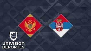 Montenegro 0-2 Serbia - GOLES Y RESUMEN – Grupo 4 UEFA Nations League