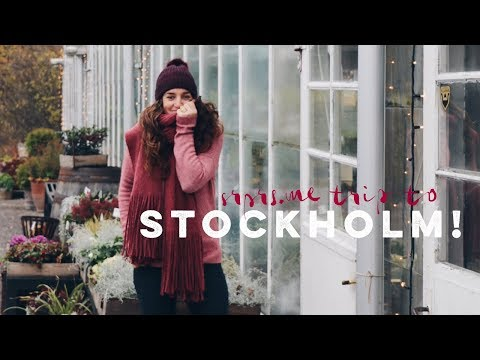 SURPRISE... GOING TO STOCKHOLM! - Professional Wild Child Vlog