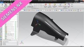 Hitzeschutzblech - Siemens NXnx 9 Surface Training - Studio Surface