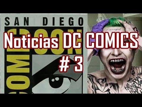 Noticias DC # 3 - Hawkman en Legends of Tomorrow, Trailer Suicide Squad, peliculas animadas de DC...