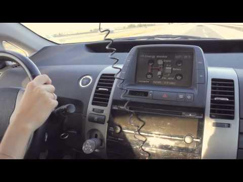 Toyota prius 2008г , приус на трассе и в городе, расход бензина.