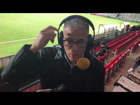 Keith Curle speaks to BBC Radio Northampton after the win at Salford City