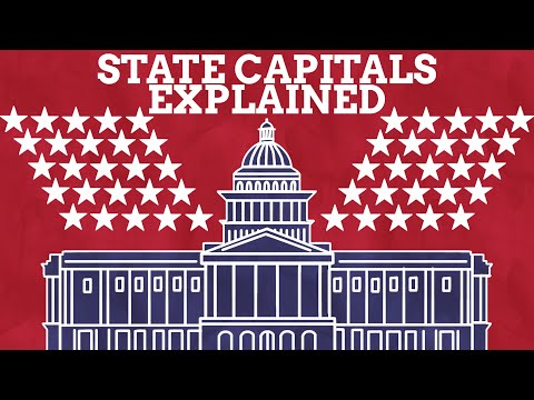 How Did The State Capitals Of The USA Get Their Names?