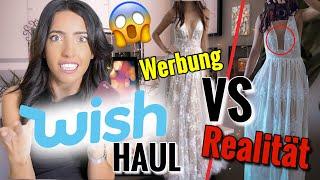 WISH HAUL & Live Test | Werbung vs Realität | Besser als Amazon und Ebay?!