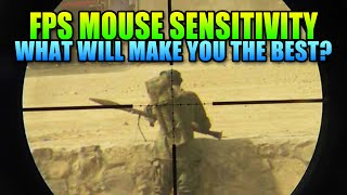 FPS Mouse Sensitivity - What Is Right For You? | Battlefield 4 Sniping Gameplay