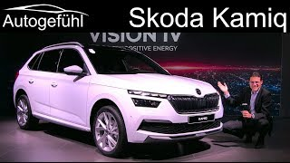 Skoda Kamiq REVIEW Exterior Interior - Autogefühl