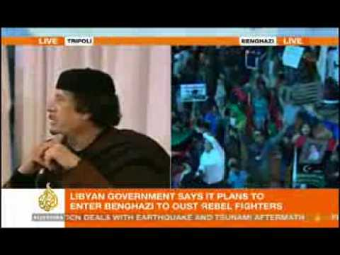 Gaddafi Speech 15 March 2011- Shame On The Oil Thieving Imperialists