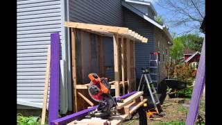 Chicken Coop Build Weekend 1