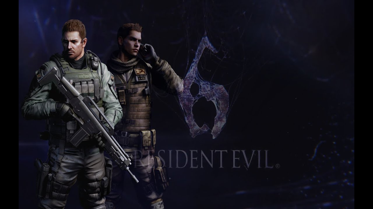 Resident Evil 6 Ps4 Chapter 5 Ending Chris Redfield Campaign Youtube