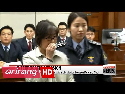 Prosecutors interrogate former President Park Geun-hye at detention center