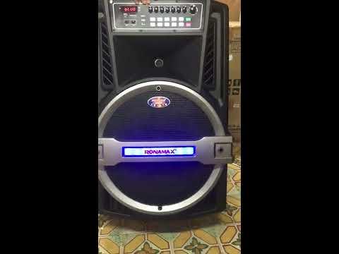 Loa kéo RONAMAX K18 bass 5.5 tấc giá rẻ tại babashop.vn   Loa Keo Ronamax