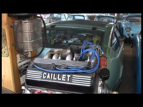 Le Musée automobile d'Yvan Caillet à L'Orient