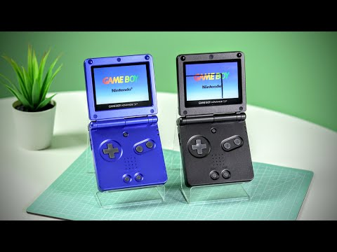 RARE Promotional GameBoy Advance SP!