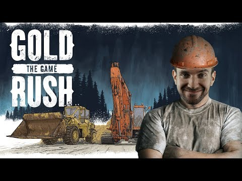 TĚŽÍME ZLATO! | Gold Rush The Game
