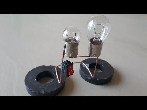 Free Energy Generator by Power Magnets