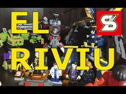 EL RIVIU - SY Heroes Assemble Battle Suit Sets