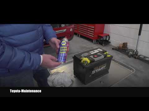 How To Remove Corrosion from Car Battery Terminals