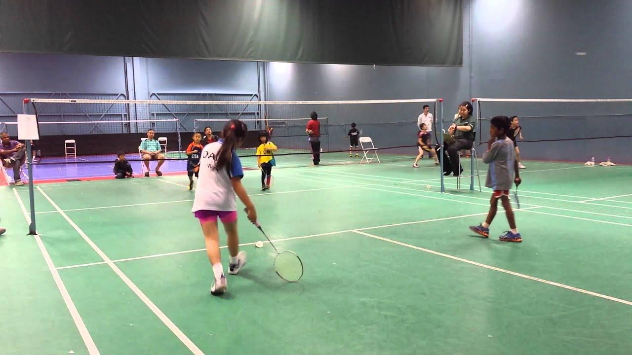 Badminton video asian #6