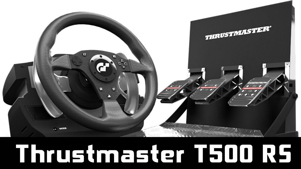 Thrustmaster T500RS ► Můj pohled ◄