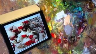 Масляные краски. Живопись. Смешиваем цвета. Мастер-класс Олега Бойко.(Как в живописи подобрать цвет? Какие краски надо смешивать и в каких пропорциях, чтобы затем дать сочный..., 2014-05-21T21:52:58.000Z)