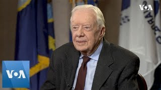 VOA Exclusive: Greta Van Susteren Interviews Former US President Jimmy Carter